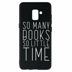 Чохол для Samsung A8+ 2018 Так багато книг так мало часу