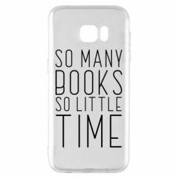 Чохол для Samsung S7 EDGE Так багато книг так мало часу