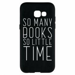 Чохол для Samsung A5 2017 Так багато книг так мало часу