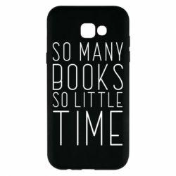 Чохол для Samsung A7 2017 Так багато книг так мало часу