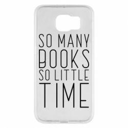 Чохол для Samsung S6 Так багато книг так мало часу