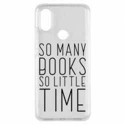 Чохол для Xiaomi Mi A2 Так багато книг так мало часу