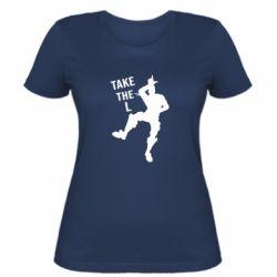 Женская футболка Take L