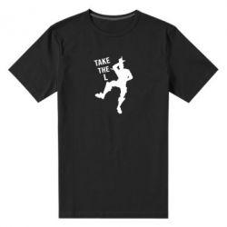 Мужская стрейчевая футболка Take L