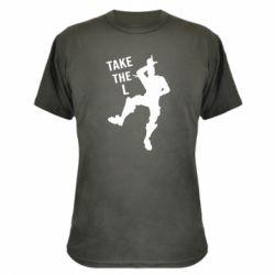 Камуфляжная футболка Take L