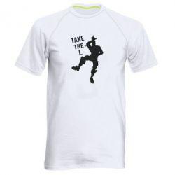 Мужская спортивная футболка Take L