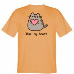 Чоловіча футболка Take my heart