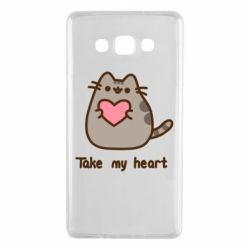 Чохол для Samsung A7 2015 Take my heart