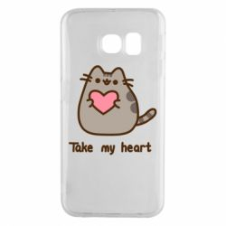 Чохол для Samsung S6 EDGE Take my heart