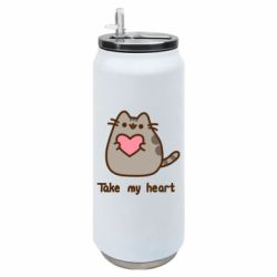 Термобанка 500ml Take my heart