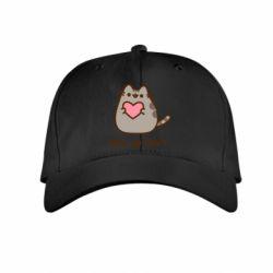 Дитяча кепка Take my heart