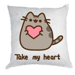 Подушка Take my heart