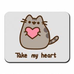 Килимок для миші Take my heart
