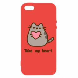 Чохол для iphone 5/5S/SE Take my heart