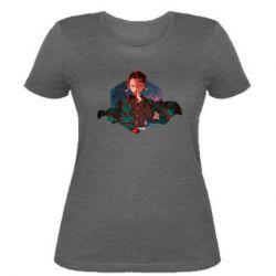 Женская футболка Танджиро Камадо