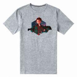 Мужская стрейчевая футболка Танджиро Камадо