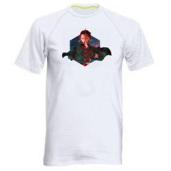 Мужская спортивная футболка Танджиро Камадо