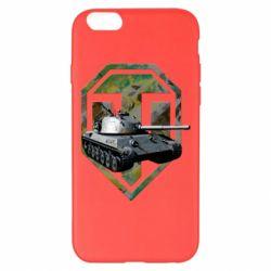 Чехол для iPhone 6 Plus/6S Plus Tank and WOT game logo