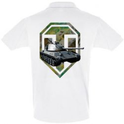 Мужская футболка поло Tank and WOT game logo