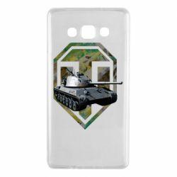 Чехол для Samsung A7 2015 Tank and WOT game logo