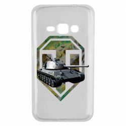 Чехол для Samsung J1 2016 Tank and WOT game logo