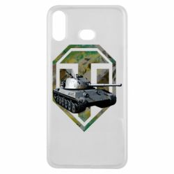 Чехол для Samsung A6s Tank and WOT game logo