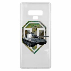 Чехол для Samsung Note 9 Tank and WOT game logo