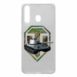 Чехол для Samsung A60 Tank and WOT game logo