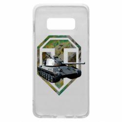 Чехол для Samsung S10e Tank and WOT game logo