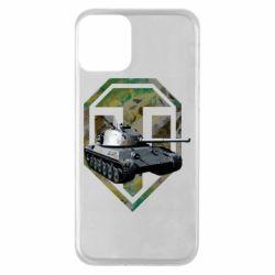 Чехол для iPhone 11 Tank and WOT game logo