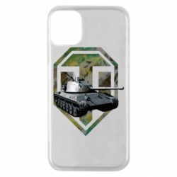 Чехол для iPhone 11 Pro Tank and WOT game logo