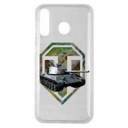 Чехол для Samsung M30 Tank and WOT game logo