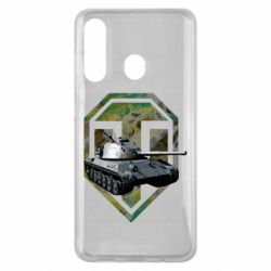 Чехол для Samsung M40 Tank and WOT game logo