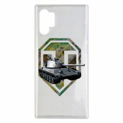 Чехол для Samsung Note 10 Plus Tank and WOT game logo