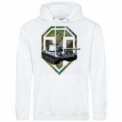Мужская толстовка Tank and WOT game logo