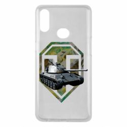 Чехол для Samsung A10s Tank and WOT game logo