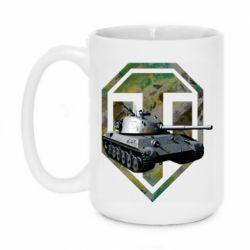 Кружка 420ml Tank and WOT game logo