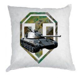 Подушка Tank and WOT game logo