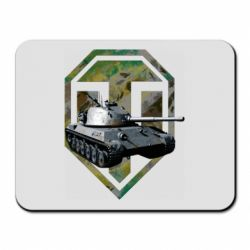 Коврик для мыши Tank and WOT game logo