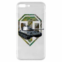 Чехол для iPhone 7 Plus Tank and WOT game logo