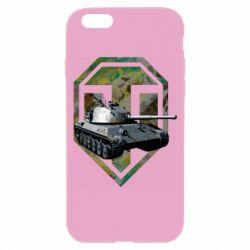 Чехол для iPhone 6/6S Tank and WOT game logo