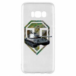Чехол для Samsung S8 Tank and WOT game logo