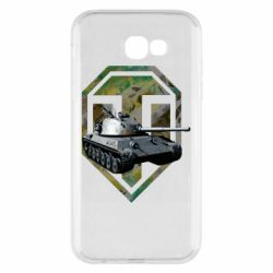 Чехол для Samsung A7 2017 Tank and WOT game logo