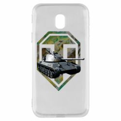 Чехол для Samsung J3 2017 Tank and WOT game logo