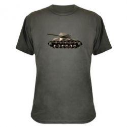Камуфляжная футболка Танк - FatLine