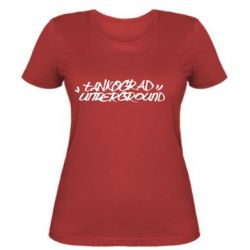 Женская Tankograd Logo - FatLine