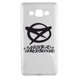 Чехол для Samsung A5 2015 Tankograd Underground Logo