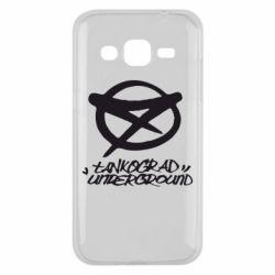 Чехол для Samsung J2 2015 Tankograd Underground Logo