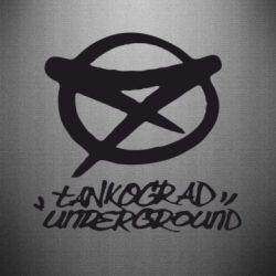 Наклейка Tankograd Underground Logo - FatLine