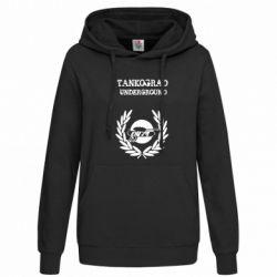 Женская толстовка Tankograd Underground